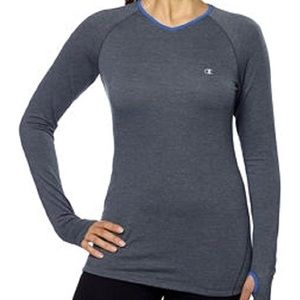 Champion Active Athletic Heather Grey Workout Tee